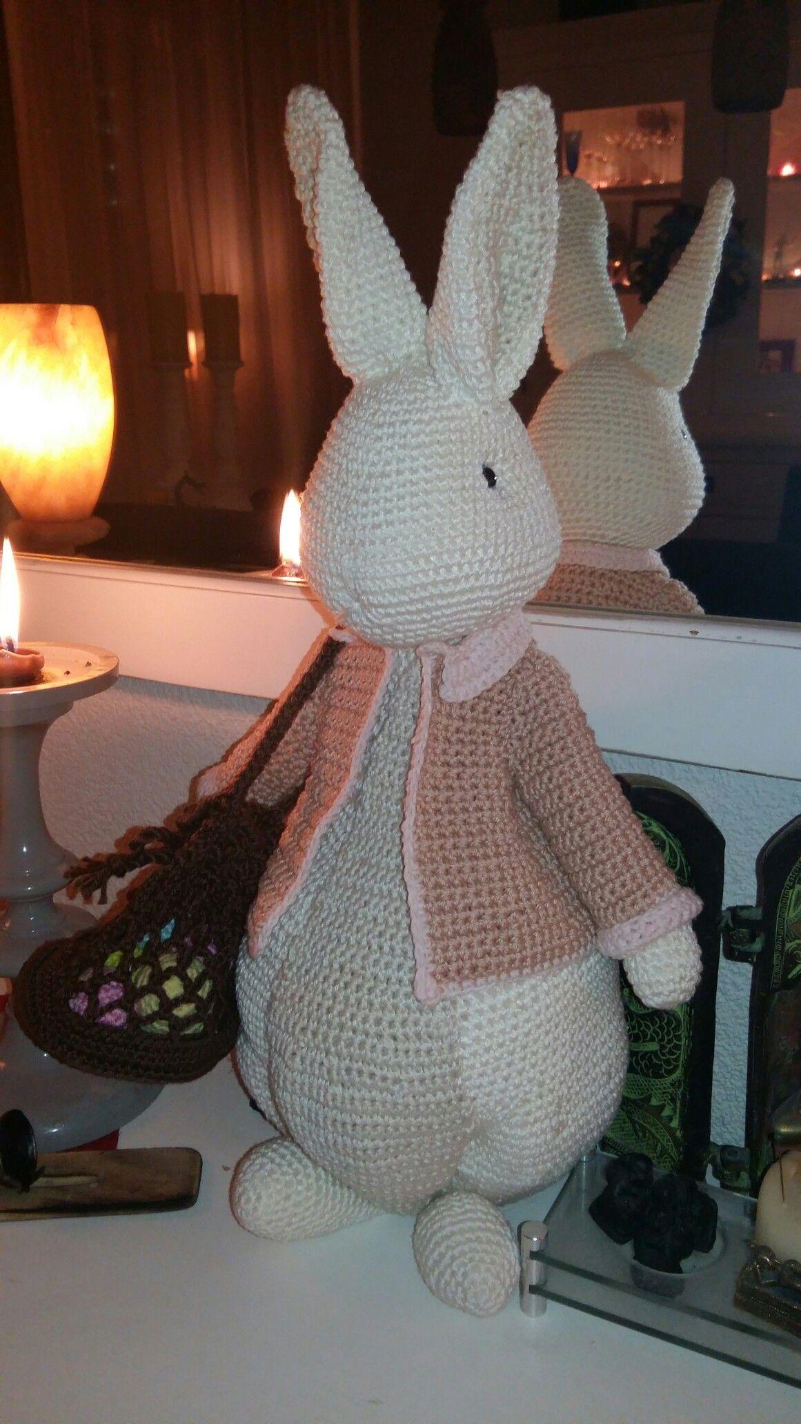 Paashaas Uit Het Boekje Pasen Haken Crochet Projects Crochet