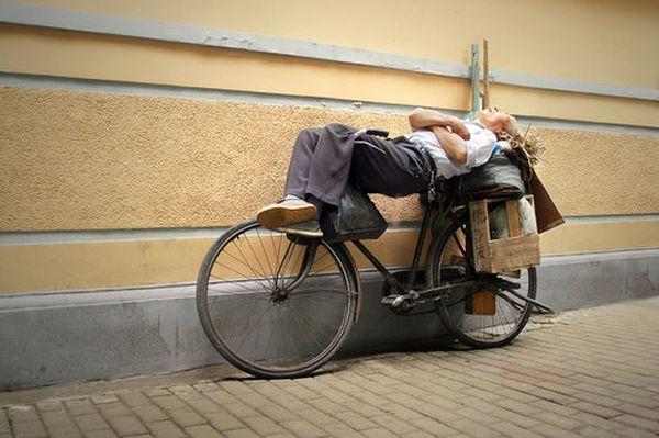 In Shanghai schlafen alle nur