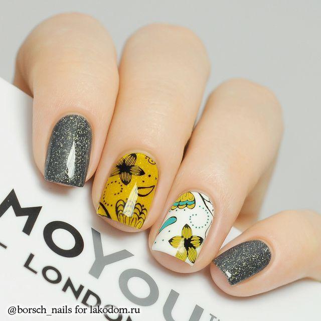 Pin de Namfon Kotchaporn en Nails Paint | Pinterest | Diseños de ...
