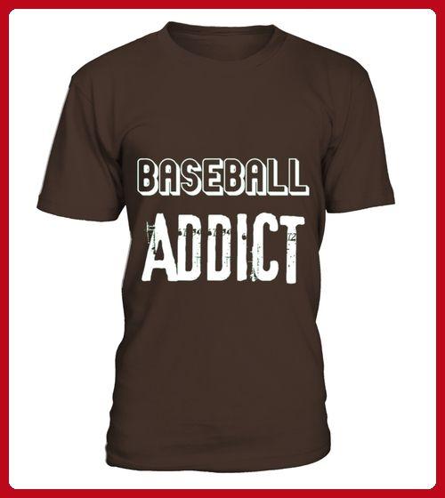 Baseball Addict Sport Tshirt - Baseball shirts (*Partner-Link)