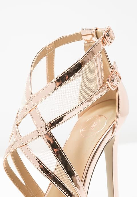 Missguided Sandales - rose gold - ZALANDO.FR   chaussures ... 395a0f7048d3