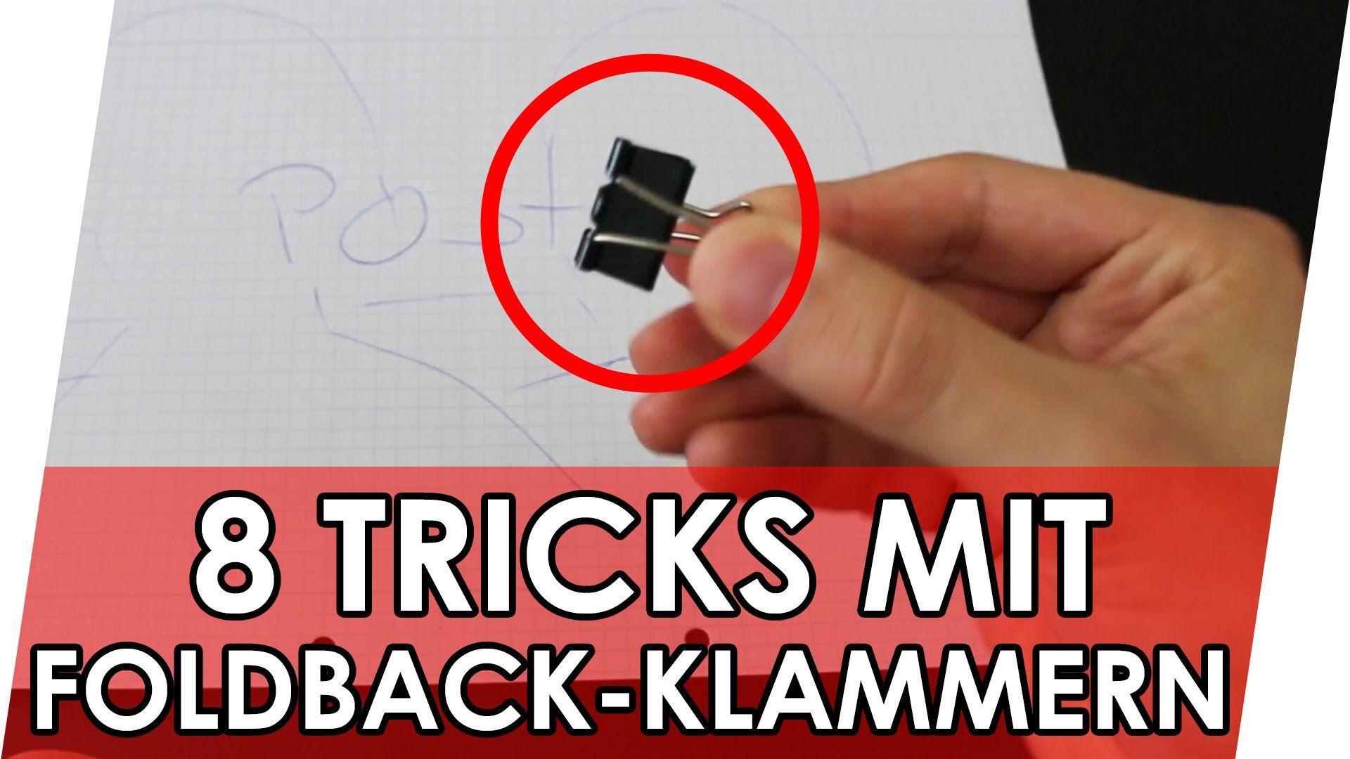 mit diesem clip bekommt ihr n tzliche tipps mit fl gelklemmen oder auch foldback klammern. Black Bedroom Furniture Sets. Home Design Ideas