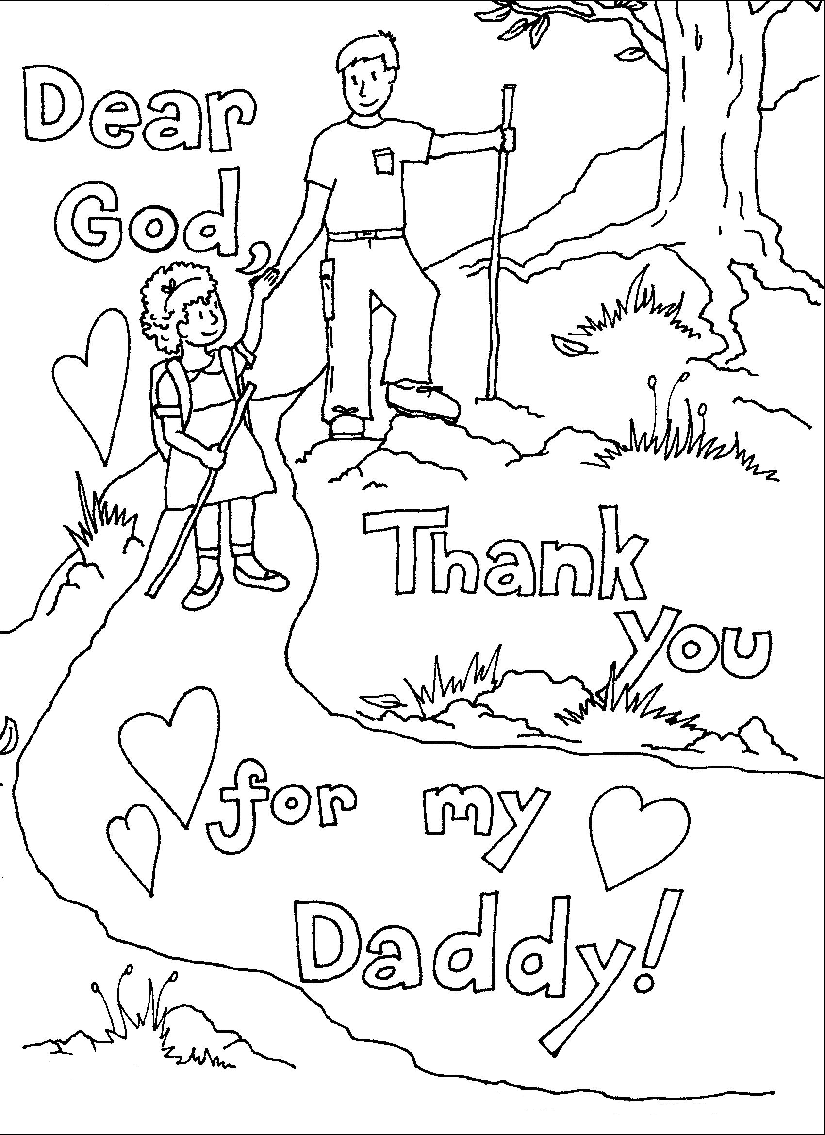 Fathers Day Coloring Pages | Preschool | Pinterest | Father ...