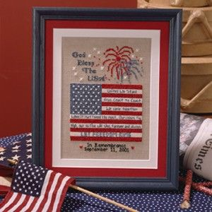 Let Freedom Ring Cross Stitch Chart