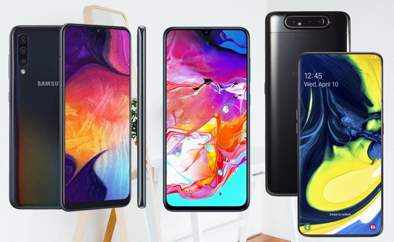 How to Take Screenshot in Samsung Galaxy A60/A70/A80