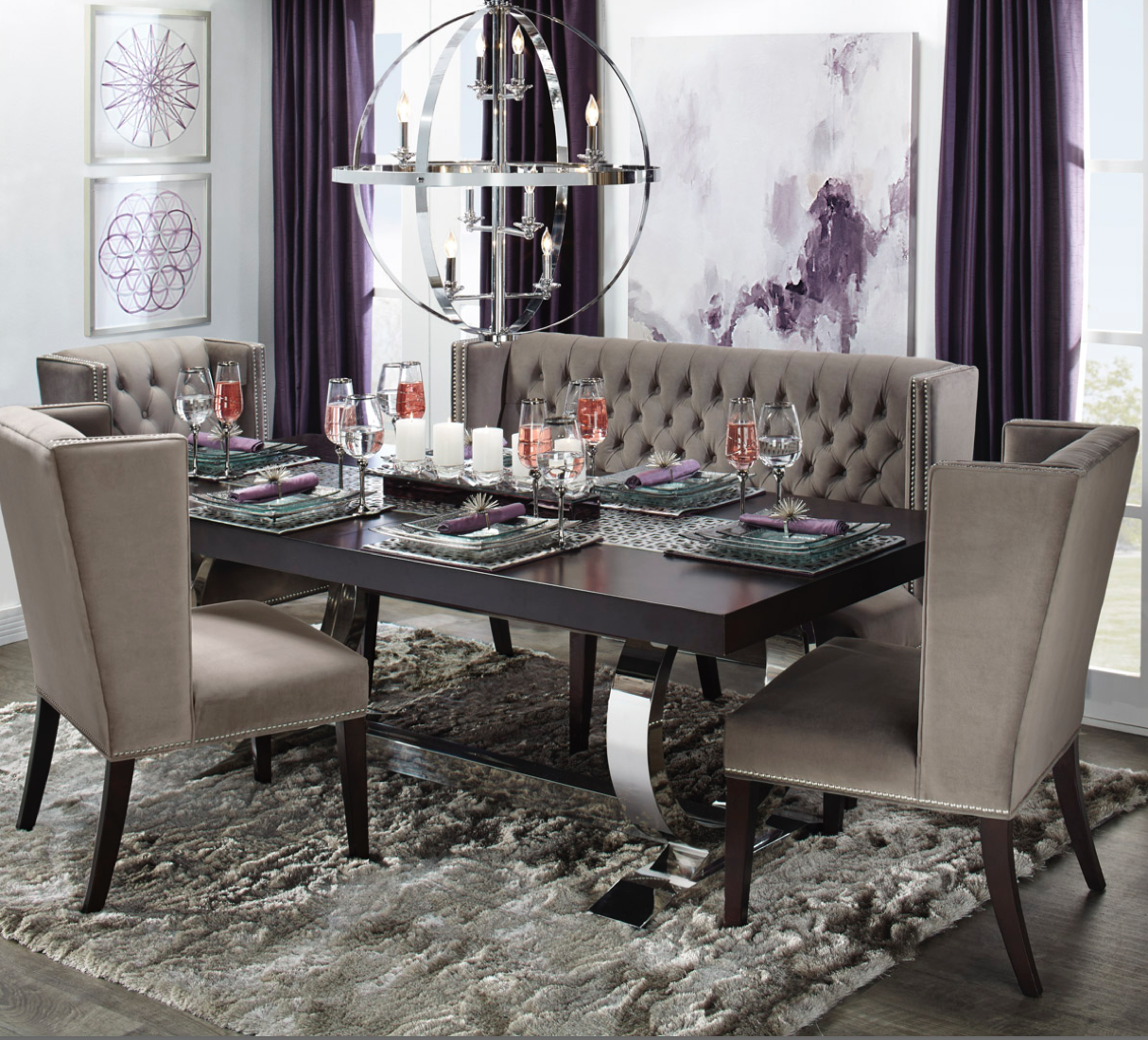 Modern Luxe Dining Room