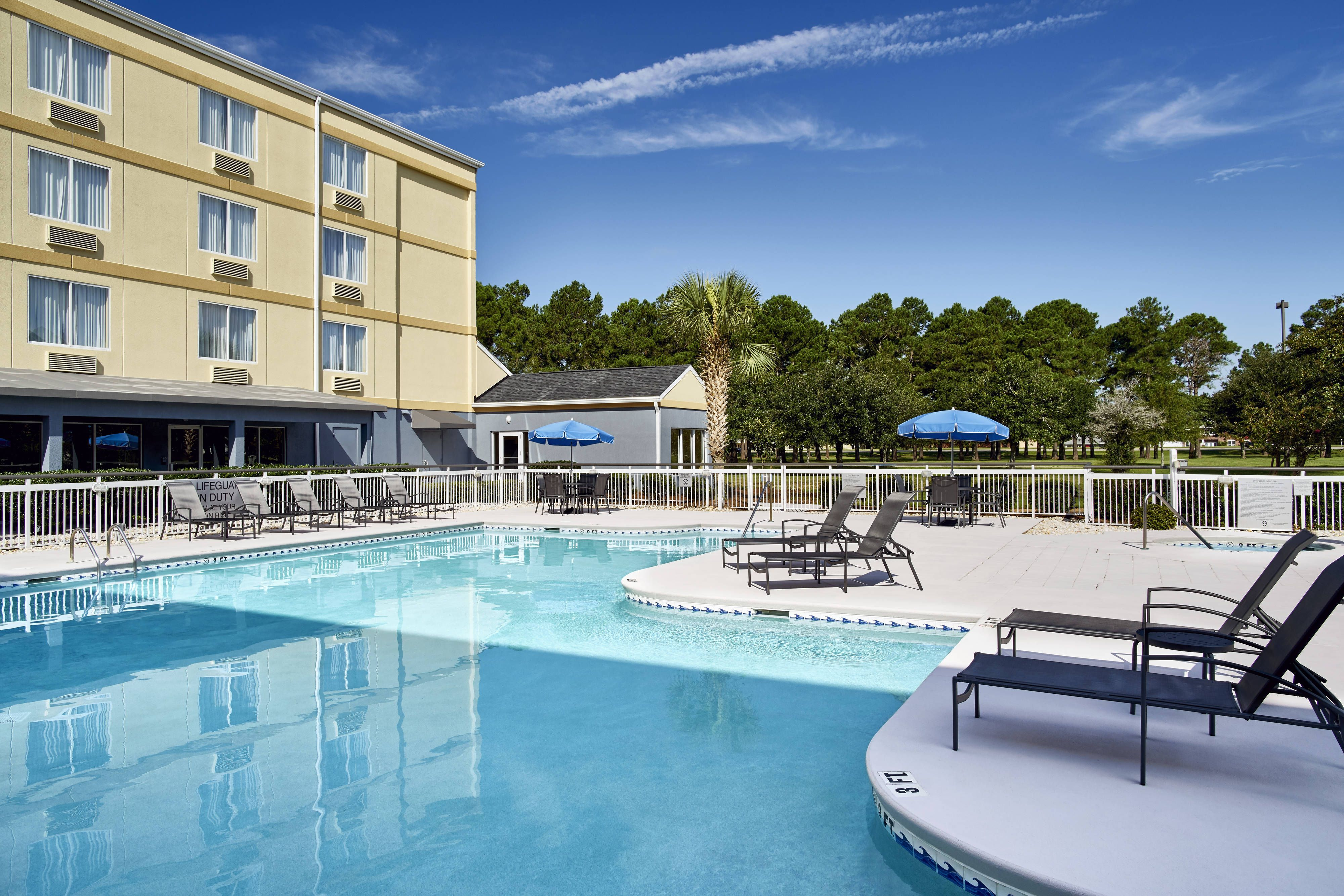 Fairfield Inn Myrtle Beach Broadway At The Beach Outdoor Pool And