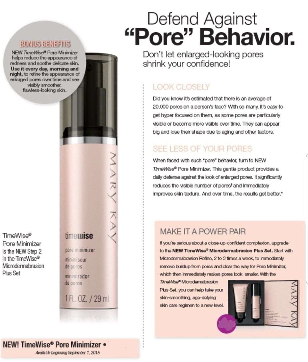 Mary Kay Pore Minimizer Mary Kay Skin Care Mary Kay Mary Kay