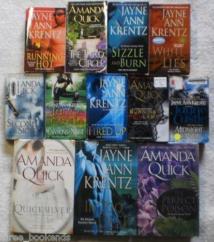 Amanda Quick Jayne Castle Ann Kz Arcane Society Lot Of 12 16 99