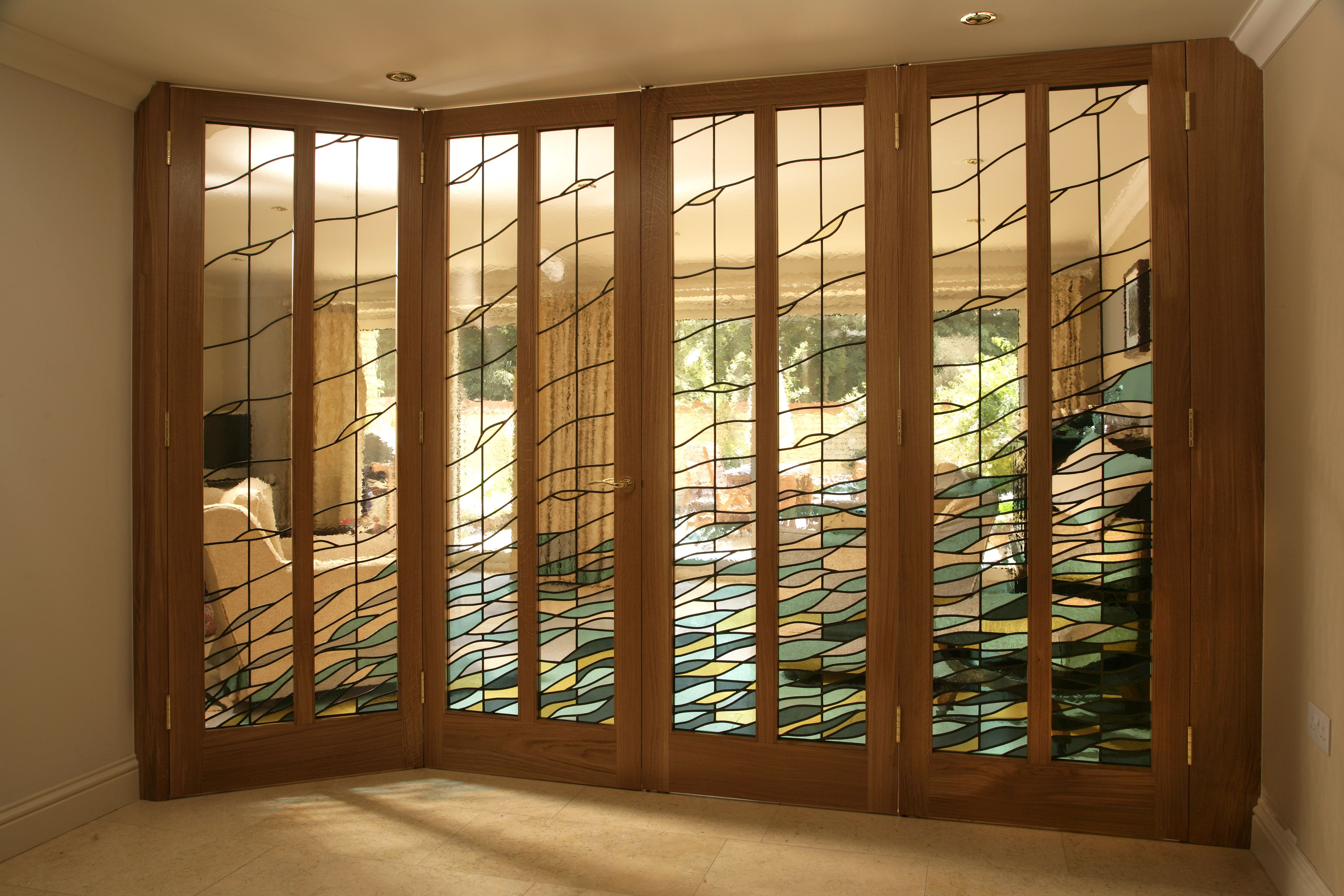 Glass Panel Interior Door In Uk Has 4 Or 6 Panels With Sections