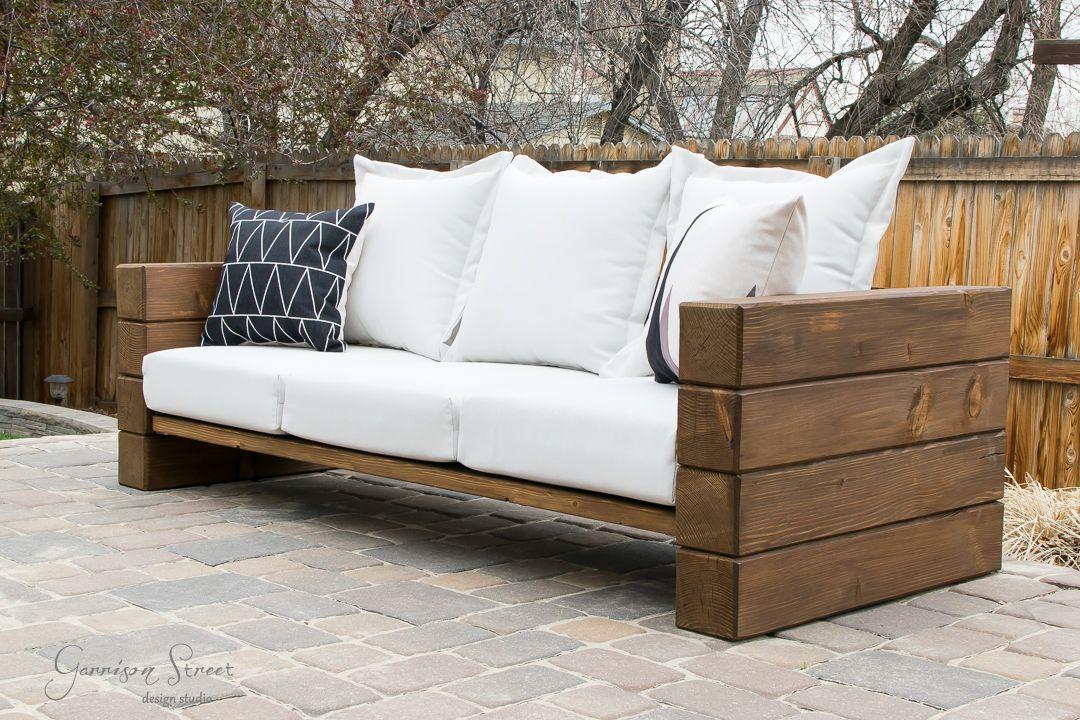 Diy outdoor sofa outdoor sofa garden sofa diy outdoor