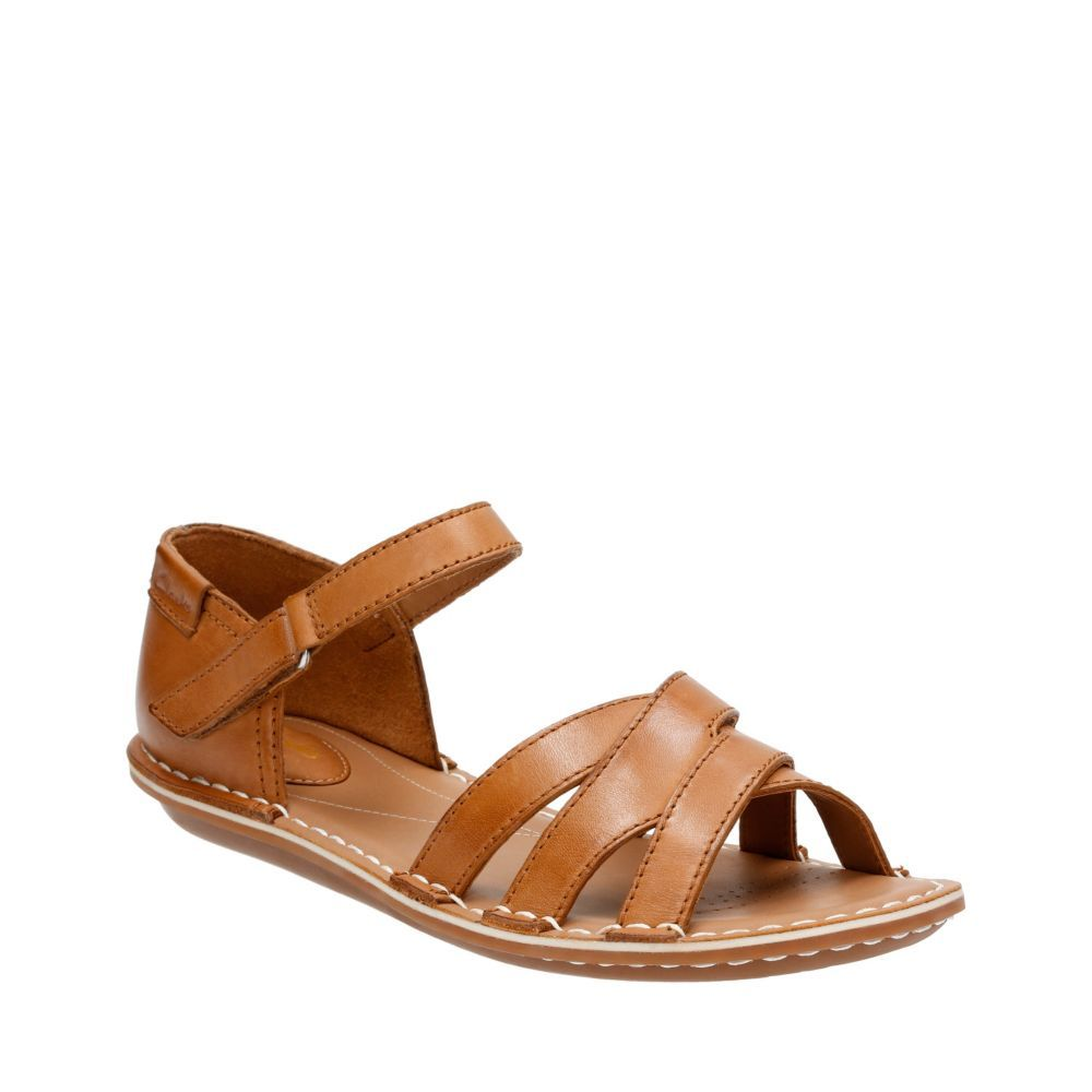 Clarks Tustin Sahara Sandals Color Brown  Women