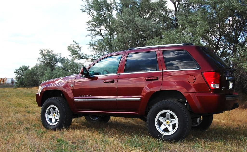 Jeep Grand Cherokee Mojave Aev American Expedition Vehicle