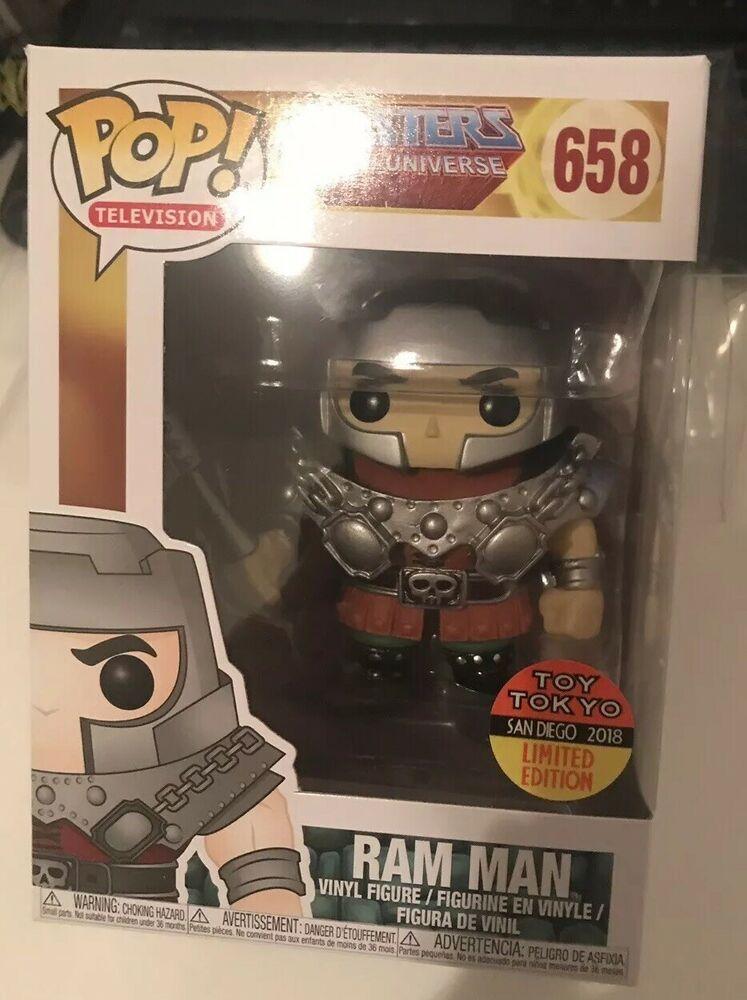 Ram Man SDCC 2018 Exclusive Pop Vinyl MOTU