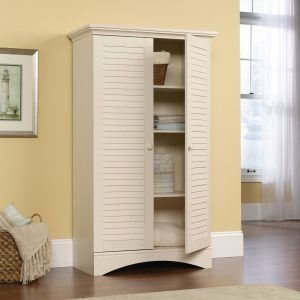 Stand Alone Wood Storage Cabinets