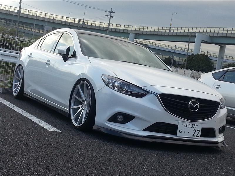 Mazda Atenza Mazda 6 On Vossen Vfs 1 Wheels Mazda Vossen Mazda 6 Sedan Mazda Mazda Cars