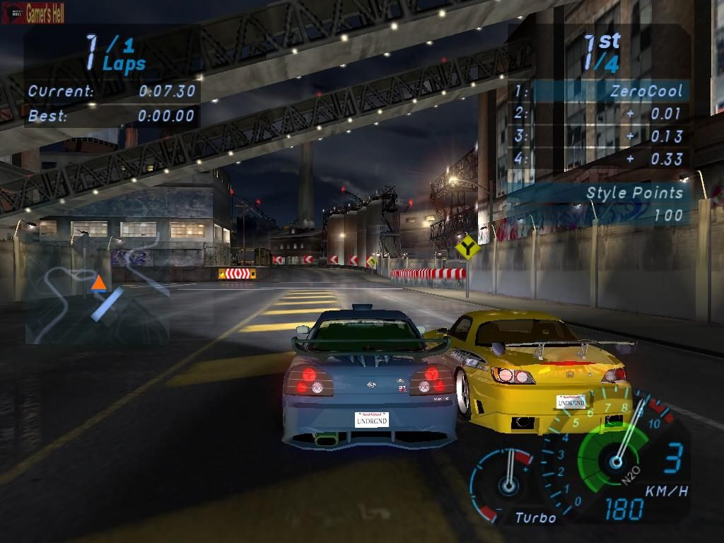 Need For Speed Underground Pc Super Car Racing Need For Speed Racing Games