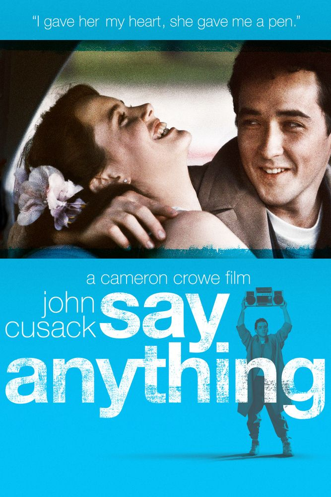 Image result for say anything movie poster