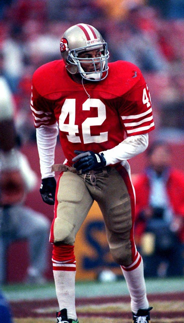 (42) Ronnie Lott 49ers 49ers football, Nfl football