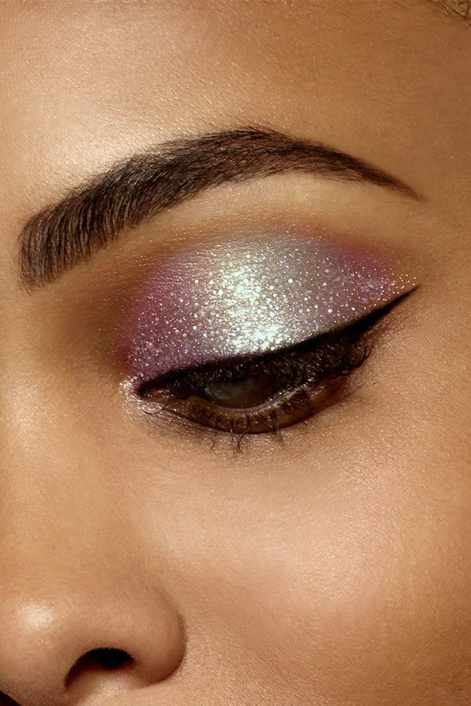 Glitter Eyeshadow Tutorial: Stila's New Duo Chrome Shades Of Magnificent Metals