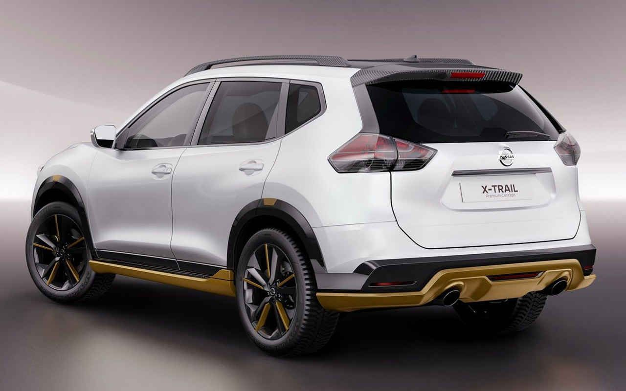 2018 nissan x trail concept rear angle nissan x trail. Black Bedroom Furniture Sets. Home Design Ideas