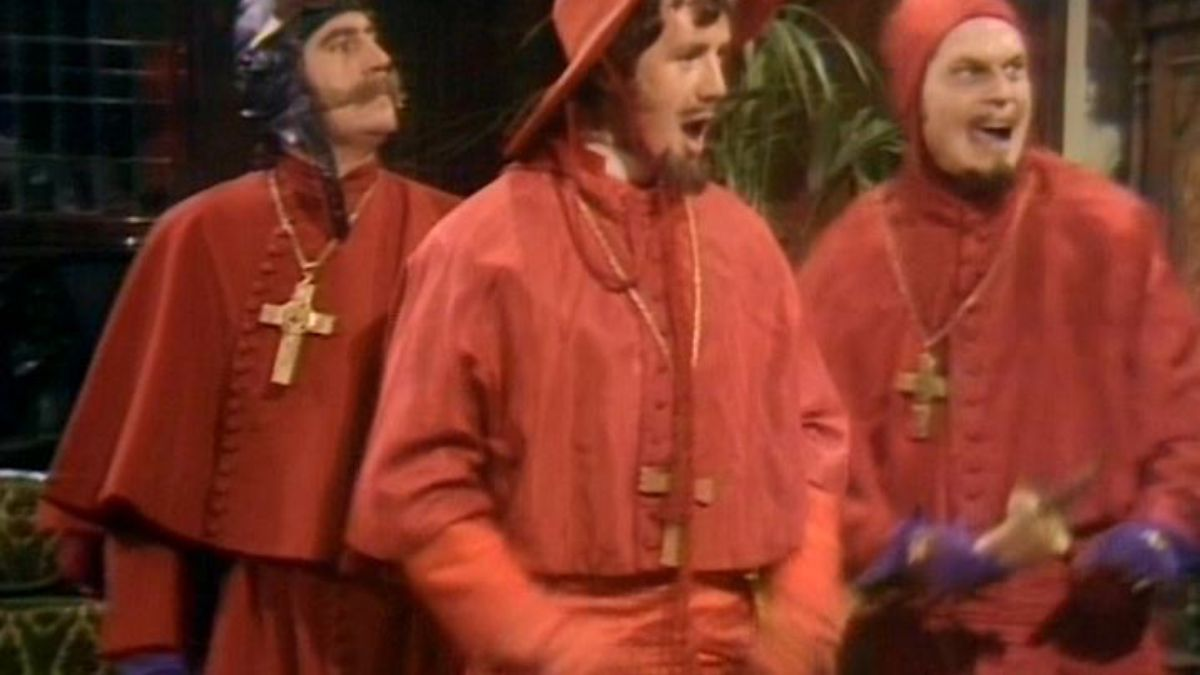 everyone expects the spanish inquisition intellectual takeout  everyone expects the spanish inquisition intellectual takeout