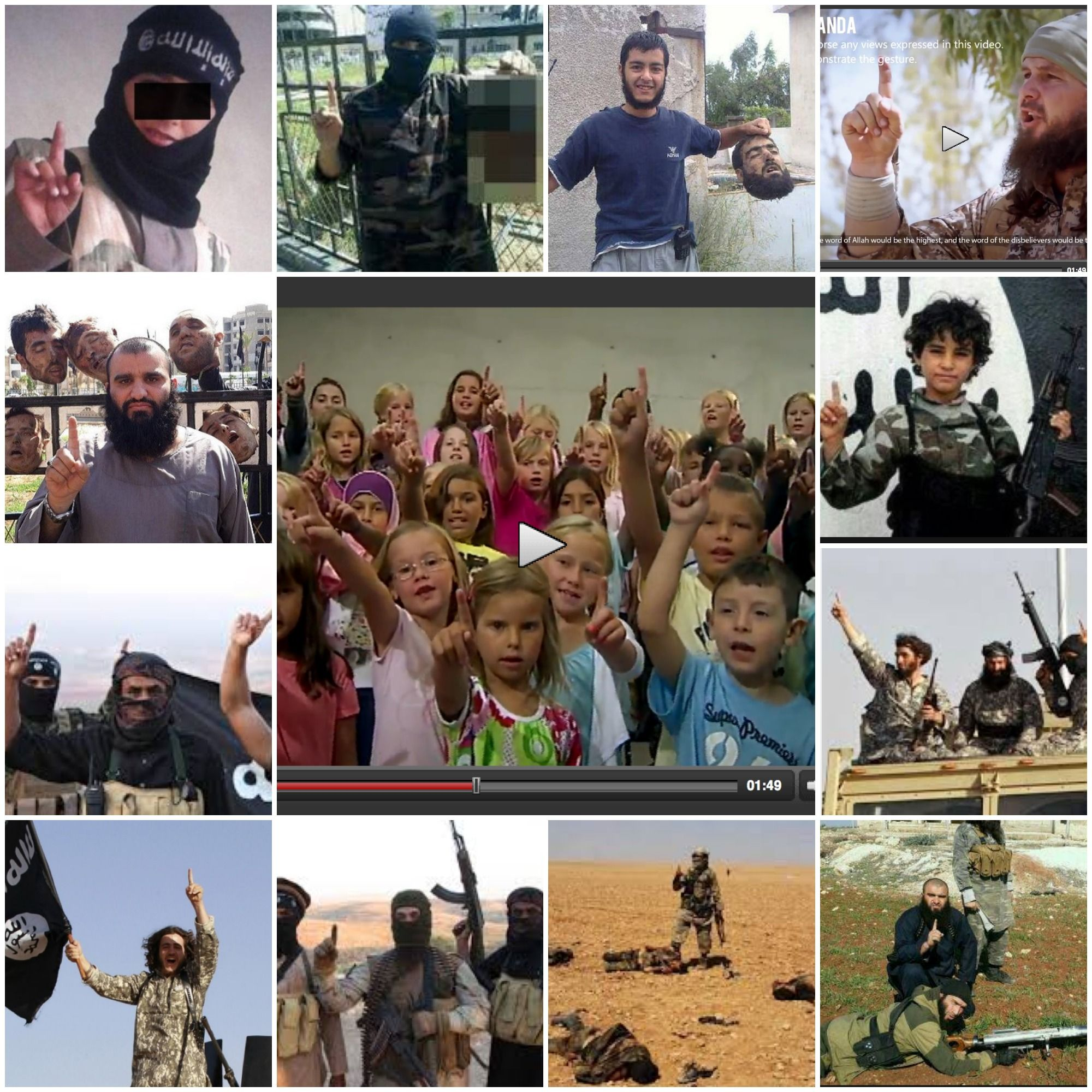 SHOCKING VIDEO: Swedish state TV airs children's program glorifying ISIS ~ Unbelievable & Disgusting!
