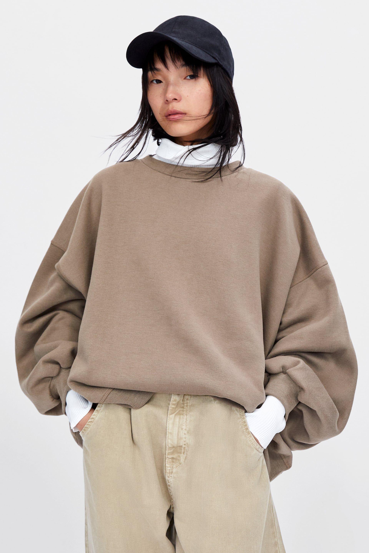 ca73b61e Image 2 of OVERSIZED SWEATSHIRT from Zara | want in 2019 ...