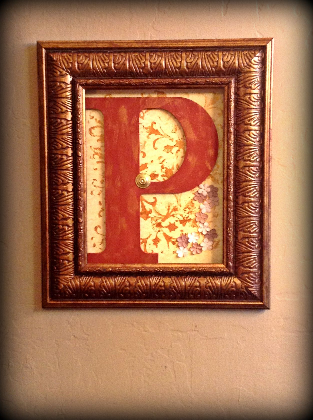 How to glue scrapbook paper to wood letters - How To Glue Scrapbook Paper On Wood Took Out The Glass From A Picture Frame