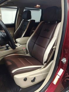 Jeep Leather Interior Google Search Clean Leather Seats New Jeep Grand Cherokee Custom Seat Covers