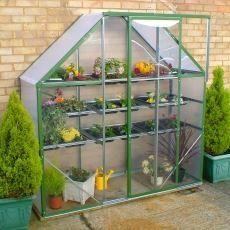 Ultimate Spacesaver Greenhouse Green Amazon Co Uk Garden 640 x 480