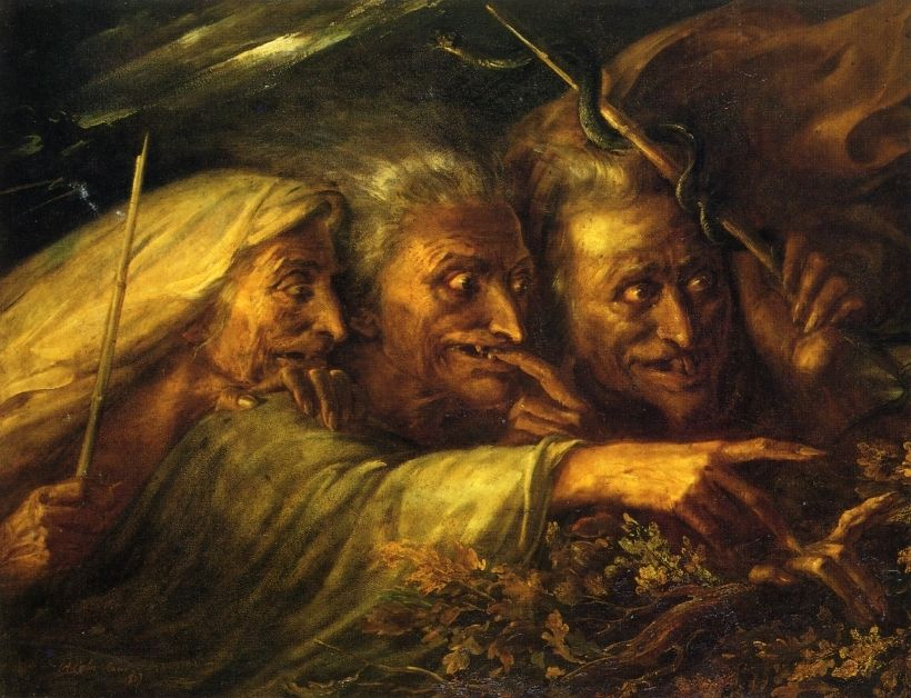 Alexandre-Marie Colin, The Three Witches from Macbeth