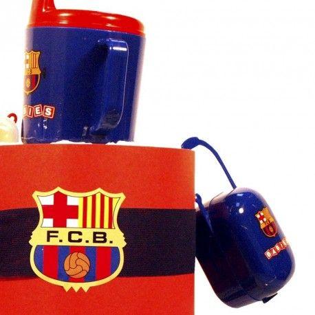 Tarta de Pañales F. C. Barcelona 3 - Las tarta de pañales para bebés más espectaculares y originales están en lacestamagica.com ¡Visita nuestra Web! canastillas par bebés - cestas para bebes - Regalos Originales y Mucho más...