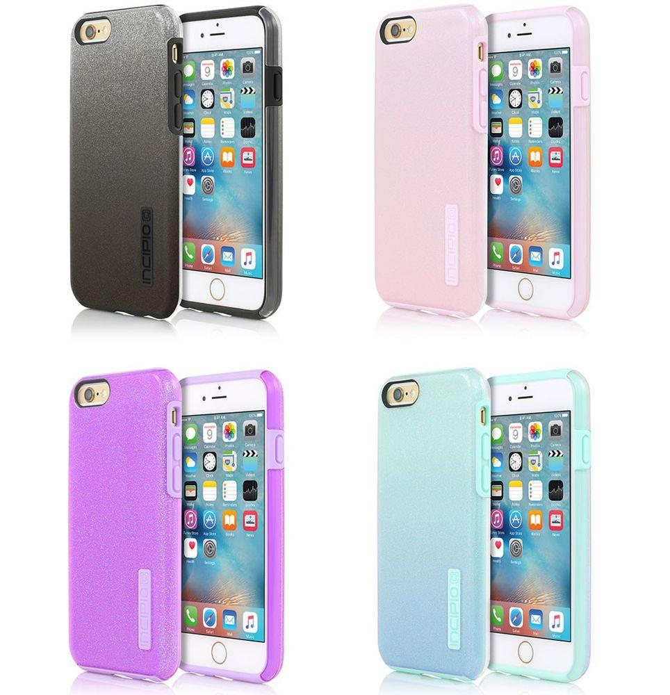 premium selection 96ced a6df1 Incipio DualPro GLITTER Hard Shell Case w/ Silicone Core for iPhone ...