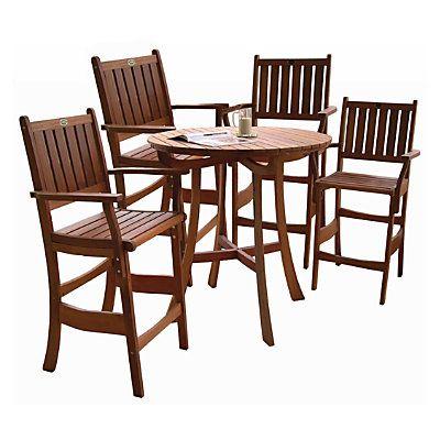 Espresso Pub Table Set  sc 1 st  Pinterest & Espresso Pub Table Set   Patio Dining Sets   Pinterest   Pub table ...