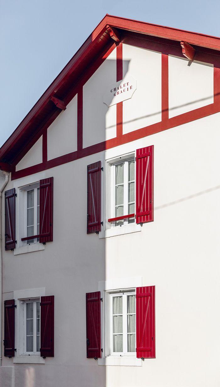 la maison de gilles boissier a biarritz la faade de la maison ct rue - Maison Moderne Biarritz
