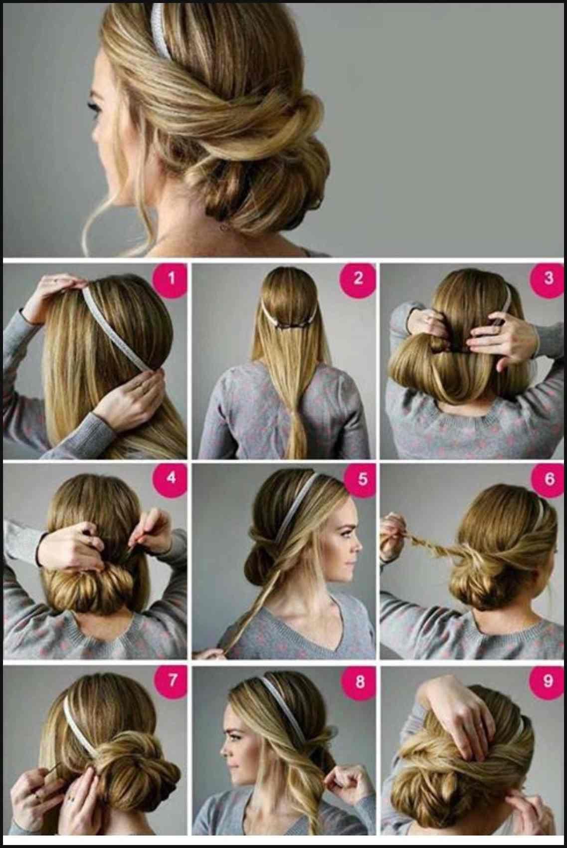 Pin Von Christina Lienard Bires Auf Hair Flair Pinterest Frisur Einfache Frisuren Long Hair Styles Hair Styles Medium Hair Styles