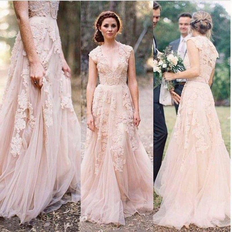Pink Wedding Dress Trends 2017 2016