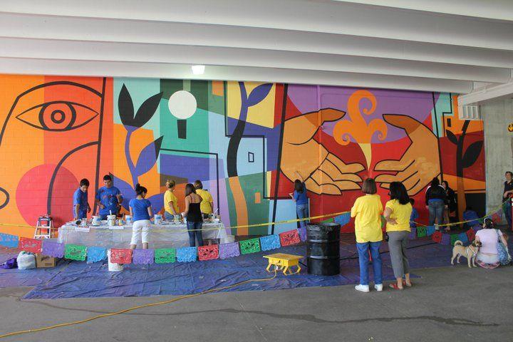 Fort Collins Community Mural Murals Art Garden Mural School Murals
