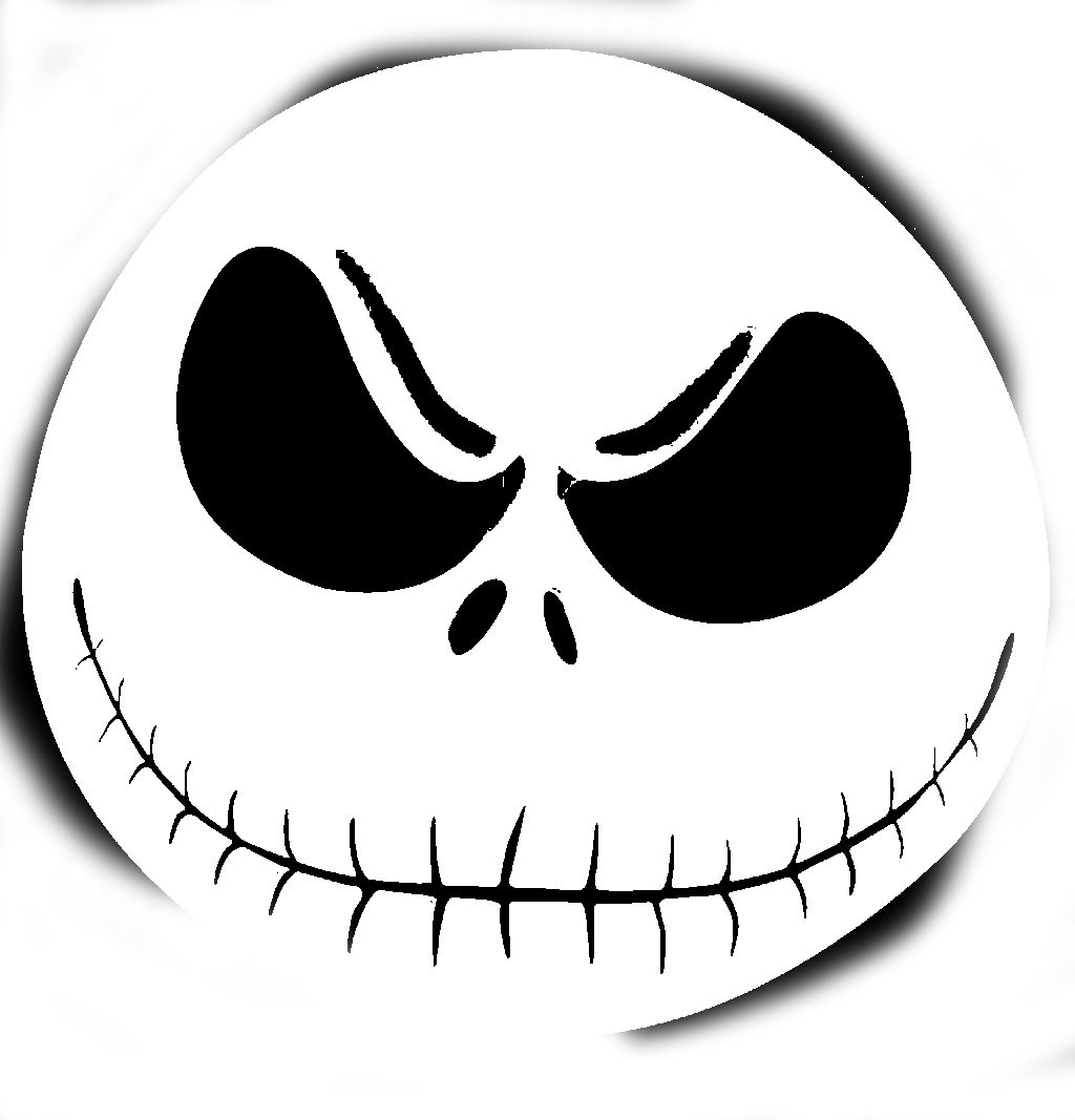 Sly image in jack skellington stencil free printable