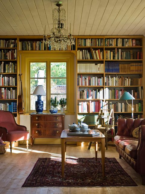 Interior Design Home Library: Pin On Libraries
