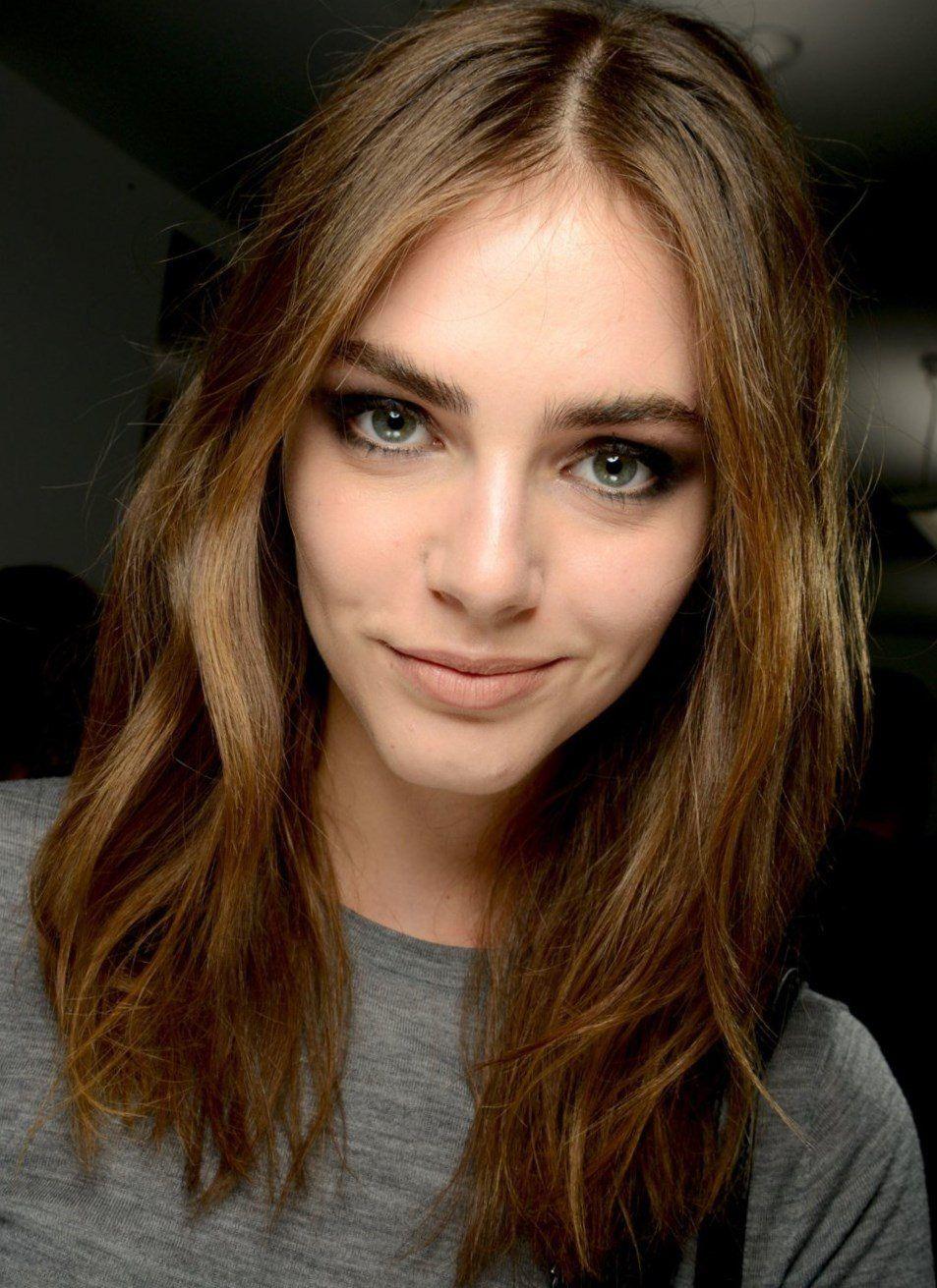 Haarschnitte Für Feines Mittellanges Haar Vanessa Paradis Frisur