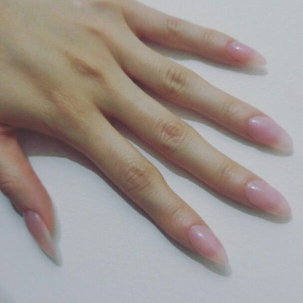 Diy Clear Acrylic Overlay Ulta Pink Hint Fire Nails Types Of Nails Nails