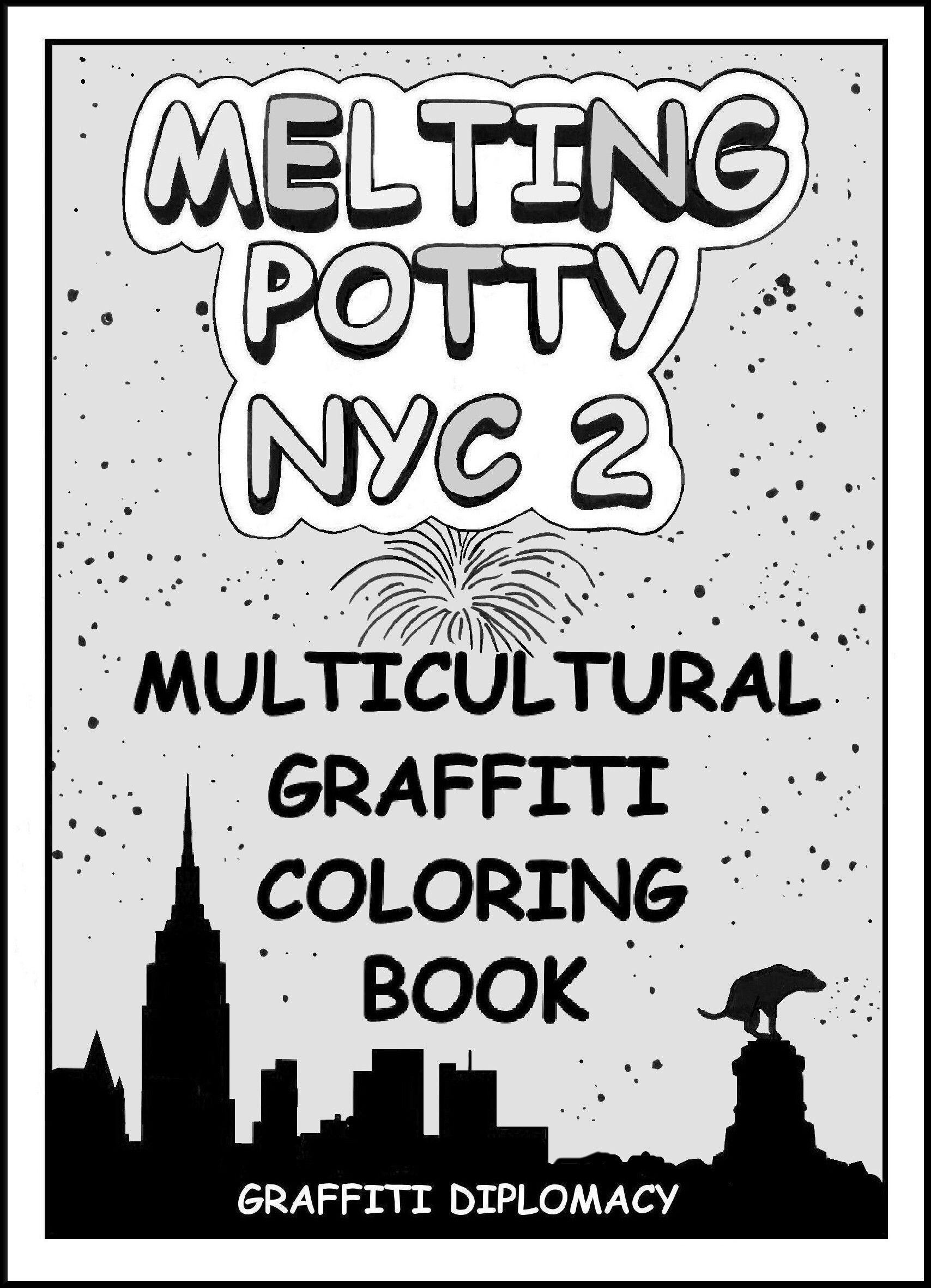 Multicultural Graffiti Coloring Book | Teach: Art | Pinterest ...