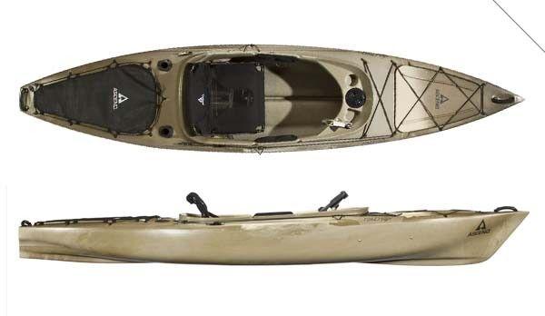 Ascend fs12 sit in fishing kayak review fishing kayak for Fishing kayak review