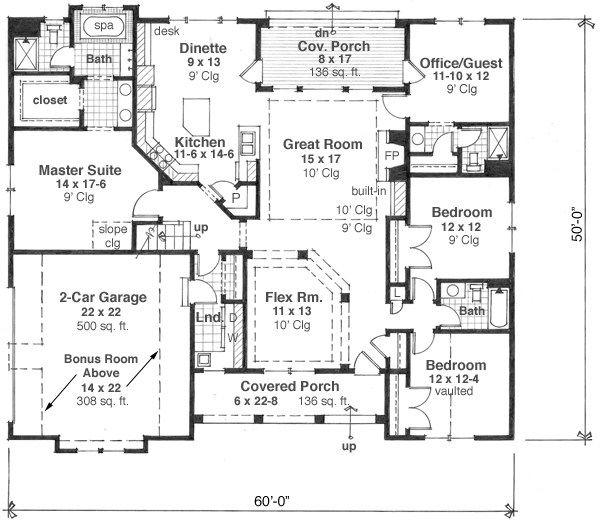 Plano planta baja planos y modelos de casas en 2019 for Modelos casas planta baja