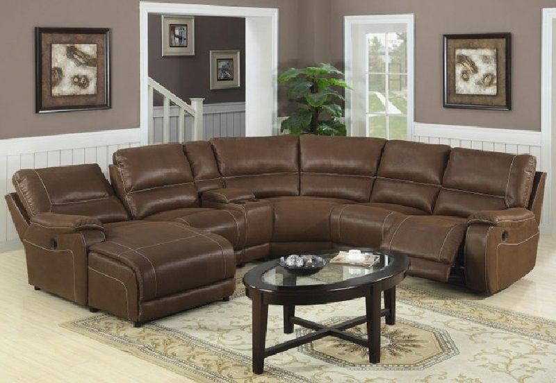 Leather Sectional Sofas With Recliners Sofa Sofadesign