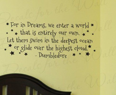 Dumbledore Harry Potter - Girl\'s or Boy\'s Room Kids Baby Nursery ...