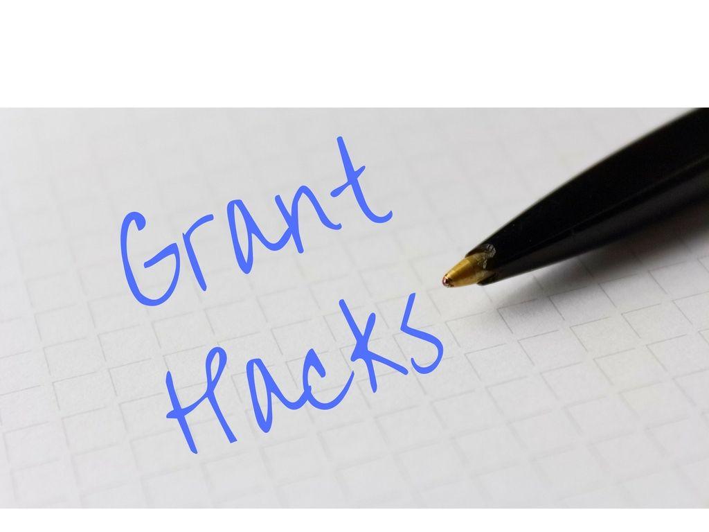 5 Time Saving Grant Writing Hacks and a Bonus Template | Money ...
