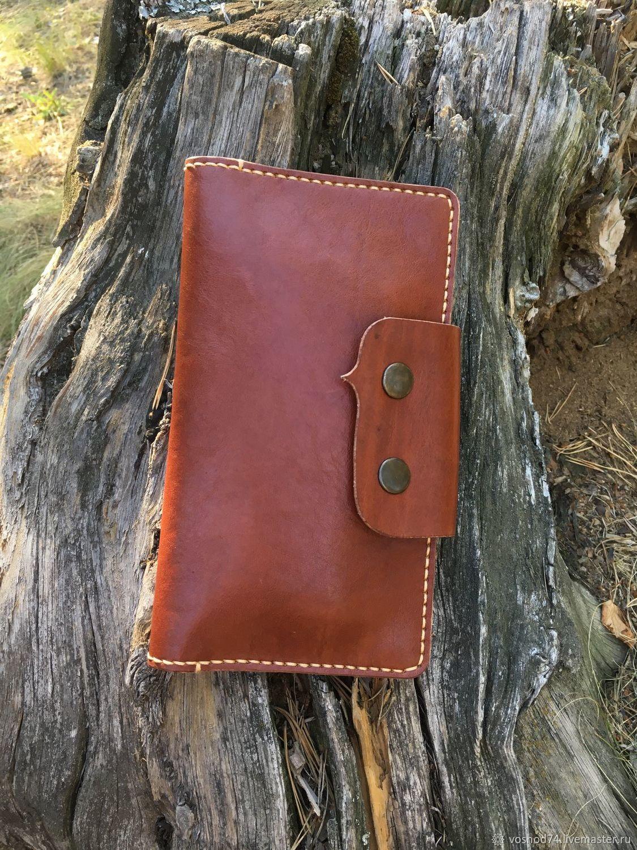 b40246233430 Лонгер, кошелёк из натуральной кожи ручная работа - купить или заказать в  интернет-магазине